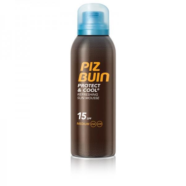 2x Piz Buin Protect & Cool Sonnen-Mousse je 150ml LSF15