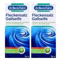 2 x Dr. Beckmann Fleckensalz Gallseife Fleckenentfernung jeweils 500g