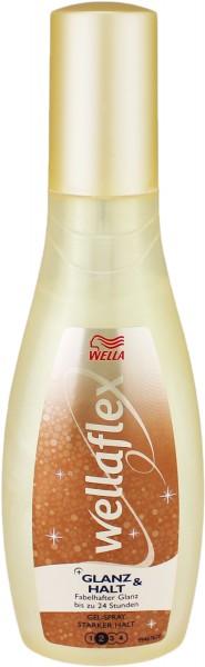 6x Wella Wellaflex Gel-Spray Glanz & Halt je 150ml