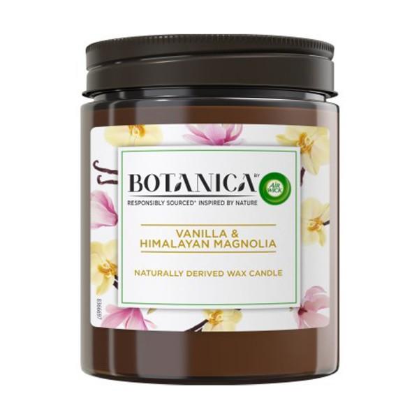6 x Air Wick Botanica Duftkerze - Vanilla & Himalayan Magnolia je 205g