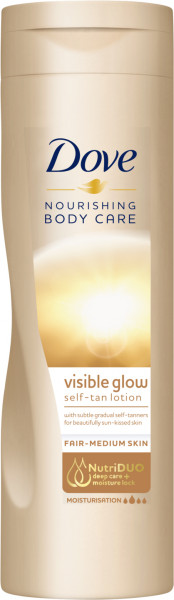 Dove Nourishing Body Care Selbstbräunende Lotion 250ml helle bis normale Haut