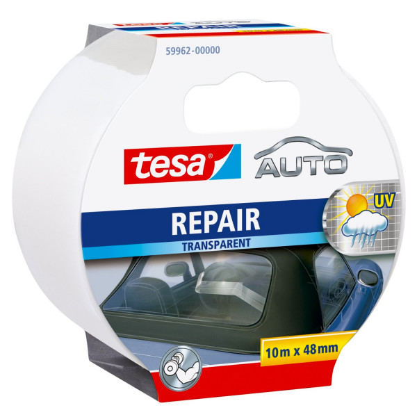 tesa Auto Repair Band transparent 10m x 48mm