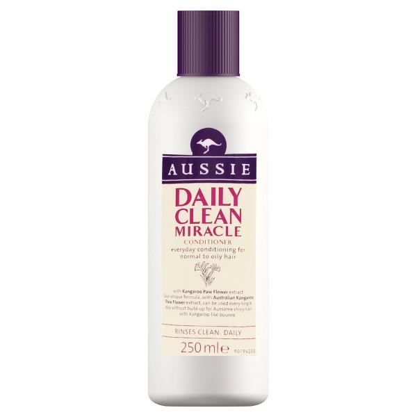 2x Aussie Daily Clean Miracle Spülung je 250ml