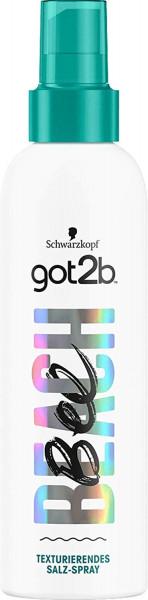 6 x Schwarzkopf got2b Beach BEE Texturierendes Salz-Spray je 200ml