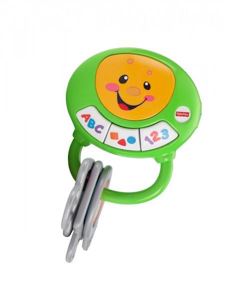 Mattel BHT32 - Fisher-Price Lernspaß Schlüsselbund mit Licht und Liedern