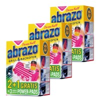 3 x 3er Pack abrazo Grill & Backofen Extra Groß