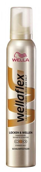 6x Wellaflex Schaumfestiger Locken & Wellen je 200ml Stärke 3