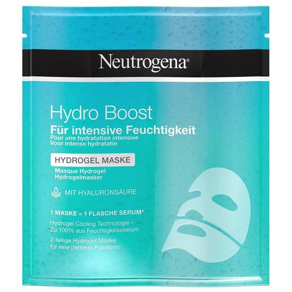 6 x Neutrogena Hydro Boost Hydrogel Maske mit Hyaluronsäure für Feuchtigkeit