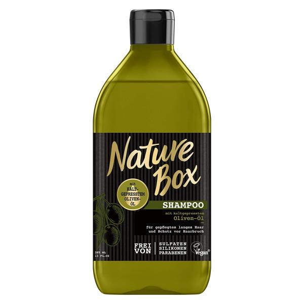 3 x Nature Box Oliven-Öl Kräftigungs-Shampoo je 385 ml Vegan