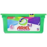 Ariel 3in1 Pods Color Reveal Colorwaschmittel 30 Wäschen