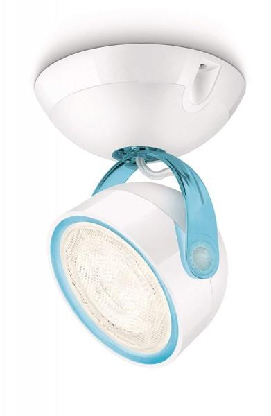 3 x Philips myLiving Dyna LED Spot Leuchte Blau Warm Weiß je 1 x 3 Watt