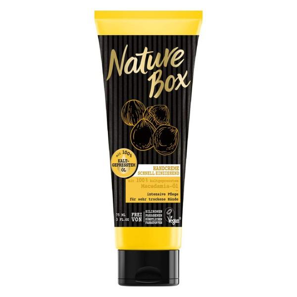 Nature Box Handcreme Macadamia-Öl 75ml Pflege für die Hände