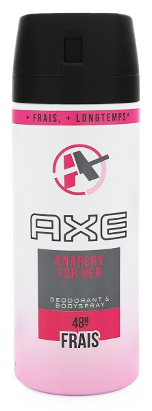 Axe Anarchy Deodorant Bodyspray for her 150ml
