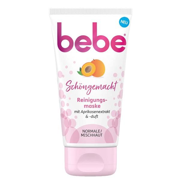 bebe Schöngemacht Reinigungsmaske mit Aprikosenextrakt Normale & Mischhaut 75ml