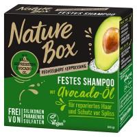 3 x Nature Box Festes Shampoo mit Avocado-Öl je 85 g Schutz vor Spliss