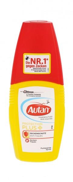 3x Autan Protect Plus Zeckenschutz je 100ml Spray