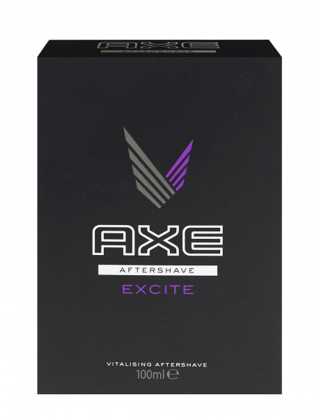 4x Original Axe Aftershave je 100ml Excite
