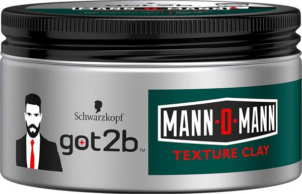 got2b Mann-O-Mann Texture Clay 100ml Styling Paste