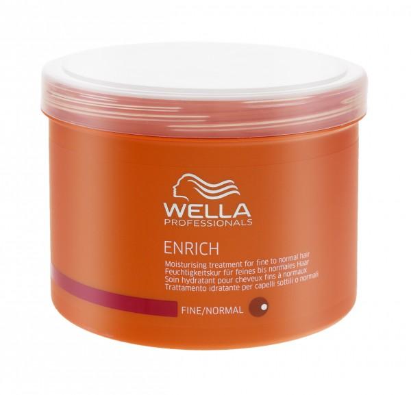 2x Wella Enrich Maske für feines bis normales Haar je 500ml