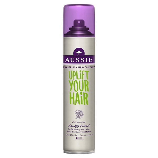 3 x Aussie Haarspray Uplift Your Hair Flexibler Halt 250 ml each