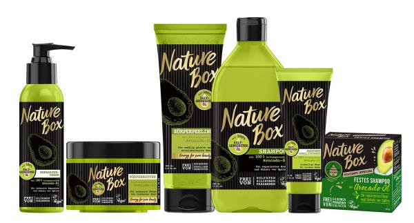 Nature Box Avocado-Öl Schönheits-Set Haar- & Körperpflege Vegan