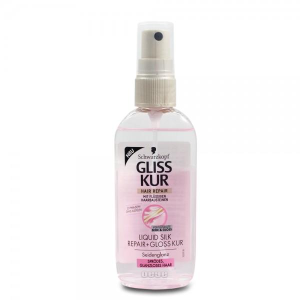 Gliss Kur Hair repair 2-Phasen Kur 100ml Liquid Silk