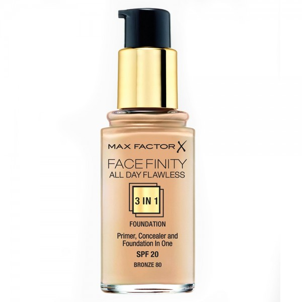 Max Factor Face Finity Foundation 3in1 Bronze 80 30ml