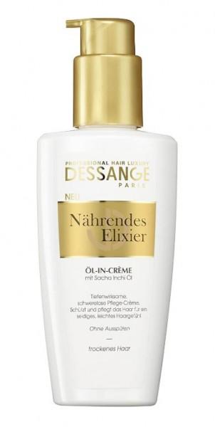 3 x Professional Hair Luxury Dessange Paris Haarpflege Nährendes Elixier Öl in Creme je 125ml