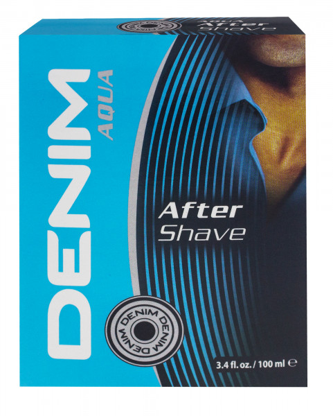 2x Denim Aftershave Aqua for him je 100ml