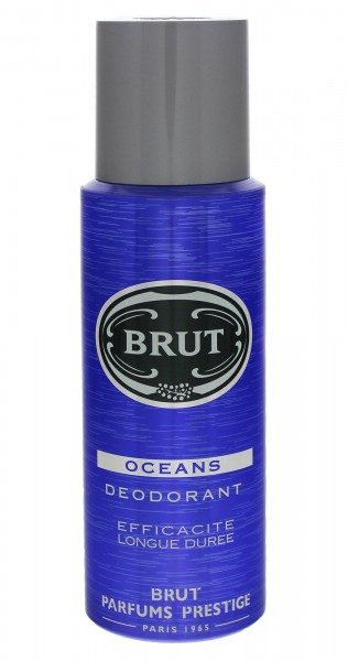 3x Brut Deospray Oceans je 200ml