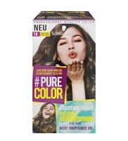 3 x Schwarzkopf Pure Color 7.0 Natürliches Dunkelblond Gel Coloration Dauerhafte Haarfarbe