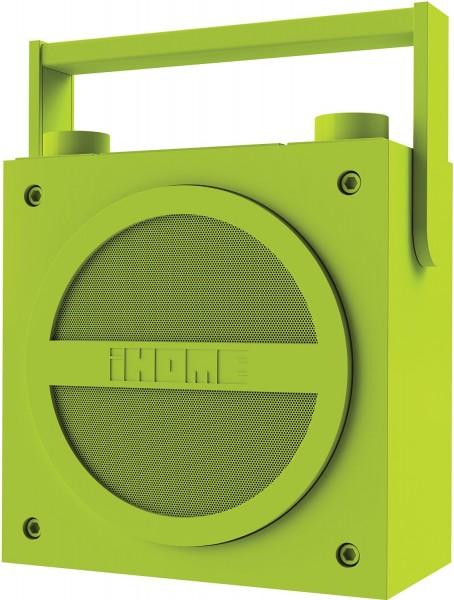 iHome SDI iBT 4QE Boombox in grün Lautsprechersystem Bluetooth mit Radio