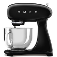 B Ware SMEG Küchenmaschine im Retro-Stil SMF03 Schwarz