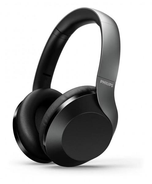 Philips Kabellose Over-Ear-Kopfhörer mit High Res Audio TAPH805BK/00
