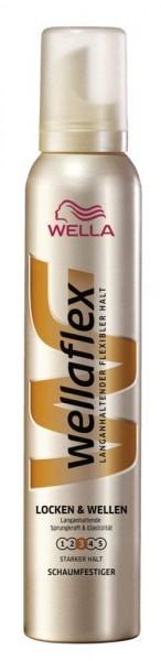 Wellaflex Schaumfestiger Locken & Wellen 200ml Stärke 3