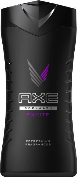 3 x Axe Refreshing Shower Gel Excite je 250ml für Männer