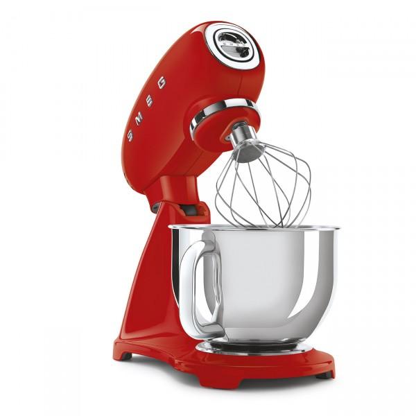 Smeg Küchenmaschine im 50\'s Style SMF03RDEU rot