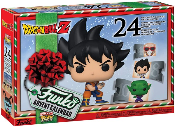Dragon Ball Z Funko Pocket POP Adventskalender 2020 Mehrfarben 49660