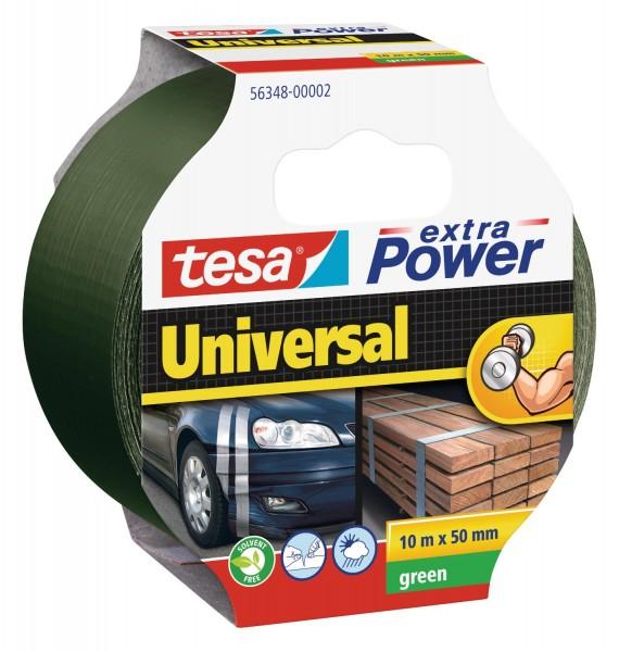 tesa extra Power Universal Folienband grün 10m x 50mm
