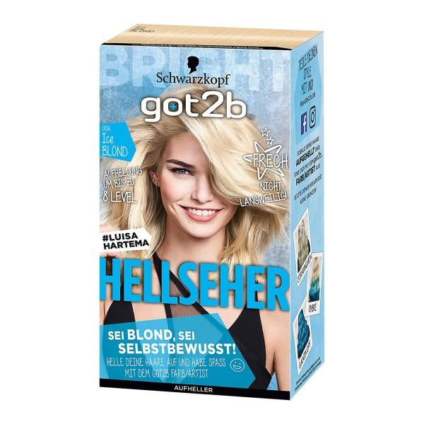 Schwarzkopf Got2b Hellseher Haarfarbe 143ml Aufheller