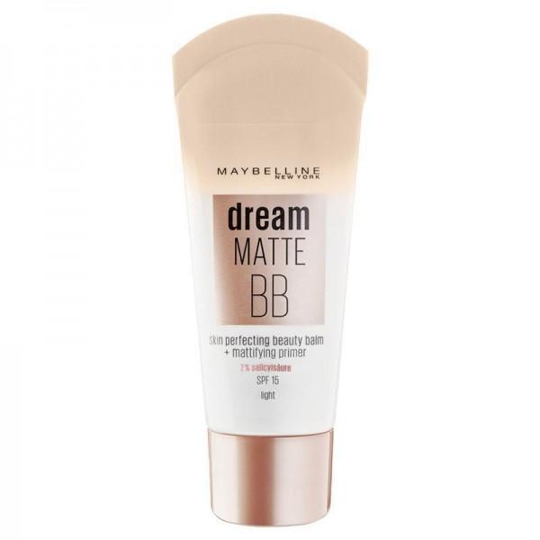 3x Maybelline Dream Matte BB beauty balm + mattierender Primer light LSF 15 je 30ml