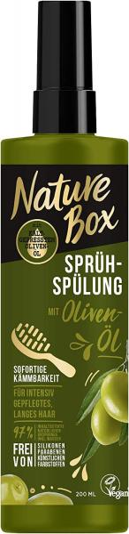 Nature Box Sprüh-Spülung mit Oliven-Öl sofortige Kämmbarkeit 200ml